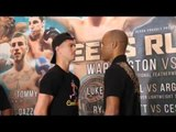 LUKE CAMPBELL v ARGENIS MENDEZ - HEAD TO HEAD @ FINAL PRESS CONFERENCE / LEEDS RUMBLE