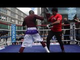 'EL CHACAL' GUILLERMO RIGONDEAUX - (FULL) PAD SESSION FROM WALES - RIGONDEAUX v DICKENS