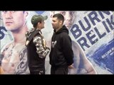 RICKY BURNS v KIRYL RELIKH - OFFICIAL HEAD TO HEAD IN SCOTLAND / BURNS v RELIKH