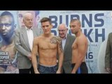 LEWIS PAULIN v ADRIAN FUZESI - OFFICIAL WEIGH IN & HEAD TO HEAD / BURNS v RELIKH