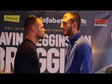WHO WILL HAVE BRAGGING RIGHTS? - FRANKIE GAVIN v SAM EGGINGTON - HEAD TO HEAD @ PRESS CONFERENCE