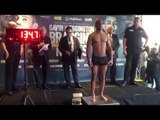 MARCUS FFRENCH v ROBBIE BARRETT - OFFICIAL WEIGH IN VIDEO FROM BIRMINGHAM / BRAGGING RIGHTS