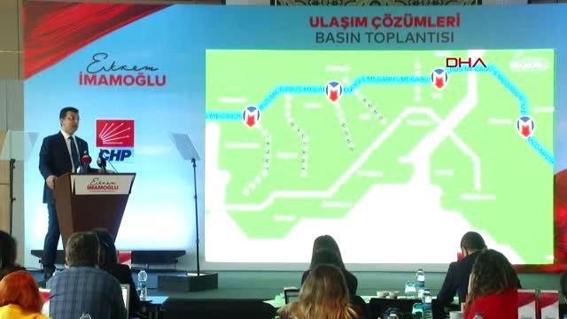 Ekrem İmamoğlu İstanbul Ulaşım Projelerini Açıkladı 2
