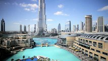 The Burj Khalifa Dubai,the Burj Khalifa was completed in 2010 and is the worlds tallest building, Dubai, UAE