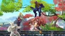 Street Fighter X Tekken - Mega Man y Pac-Man