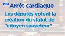"""Arrêt cardiaque : les députés votent à l'unanimité un statut de """"citoyen sauveteur"""""""