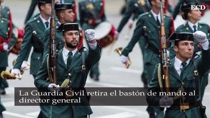 La Guardia Civil retira el bastón de mando al director general