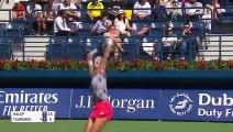 Simona Halep beats Lesia Tsurenko 6-3, 7-5 in Dubai second round