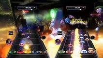 Guitar Hero: Warriors of Rock - Conectividad Wii-NDS