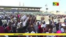 Senegal president touts achievements at Dakar rally