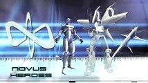 El Universo en Guerra: Asalto a la Tierra - Héroes Novus