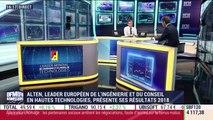 Entreprise du jour: Alten, leader européen de l'ingénierie et du conseil en hautes technologies, présente ses résultats 2018 - 20/02