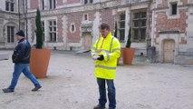 Un drone pour photographier et diagnostiquer la cathédrale de Sens