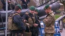 Prince Harry visits 42 Commando Royal Marines