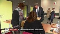 Grand débat : 10 000 maires remettent les doléances