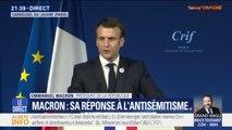 Macron annonce qu'une proposition de loi pour lutter contre la haine sur internet sera déposée au mois de mai