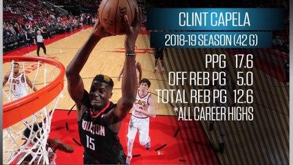 Shams Charania on Clint Capela's Return for the Rockets