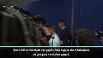 """C.Ronaldo : """"J'ai gagné 5 LdC et ces gars n'ont rien gagné"""""""