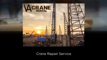 Mobile Crane Rental, Crane Rental Agency,Crane Repair Services -VA Crane Rental