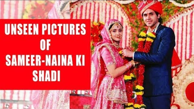Unseen pictures of Sameer-Naina's wedding from Yeh Un Dinon Ki Baat Hai