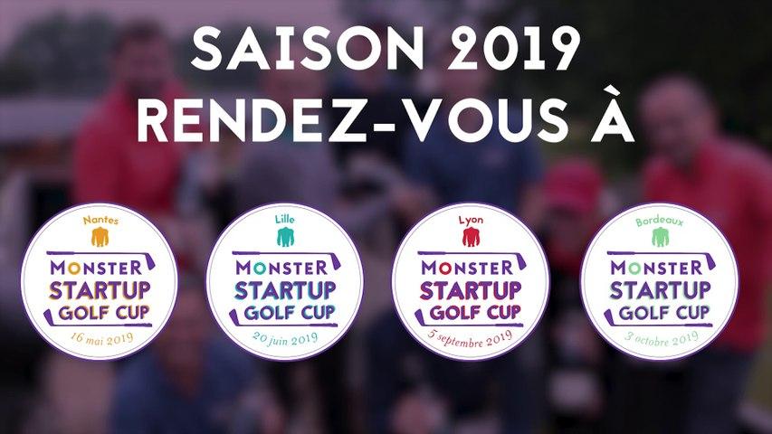 Teaser Monster Startup Golf Cup