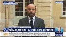 """Edouard Philippe: """"Traditionnellement, le Parlement ne se même pas de l'organisation interne de la présidence de la République"""""""