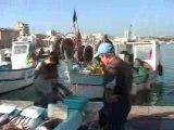 Marseille Vieux Port Marche-aux-poissons