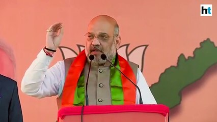 Amit Shah accuses Congress of trying to politicise the Pulwama attack