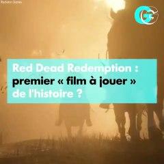 """Red Dead Redemption, premier """"film à jouer"""" de l'histoire ? l GG"""
