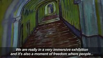 Immersive Van Gogh exhibition debuts in Paris