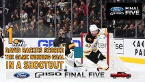 Ford F-150 Final Five Facts: David Backes Nets Game-Winner In Shootout