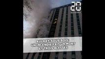 Aulnay-sous-Bois: Un incendie fait un mort et trois blessés dont deux pompiers