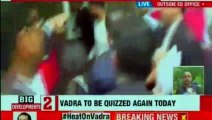 Robert Vadra Questioned by ED,Priyanka Gandhi came to drop Robert Vadra at ED Office | Robert Vadra Money Laundering Case Updates | Priyanka Gandhi | NEWSX