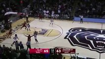NCAA  la fin de match folle entre Missouri State et Illinois State