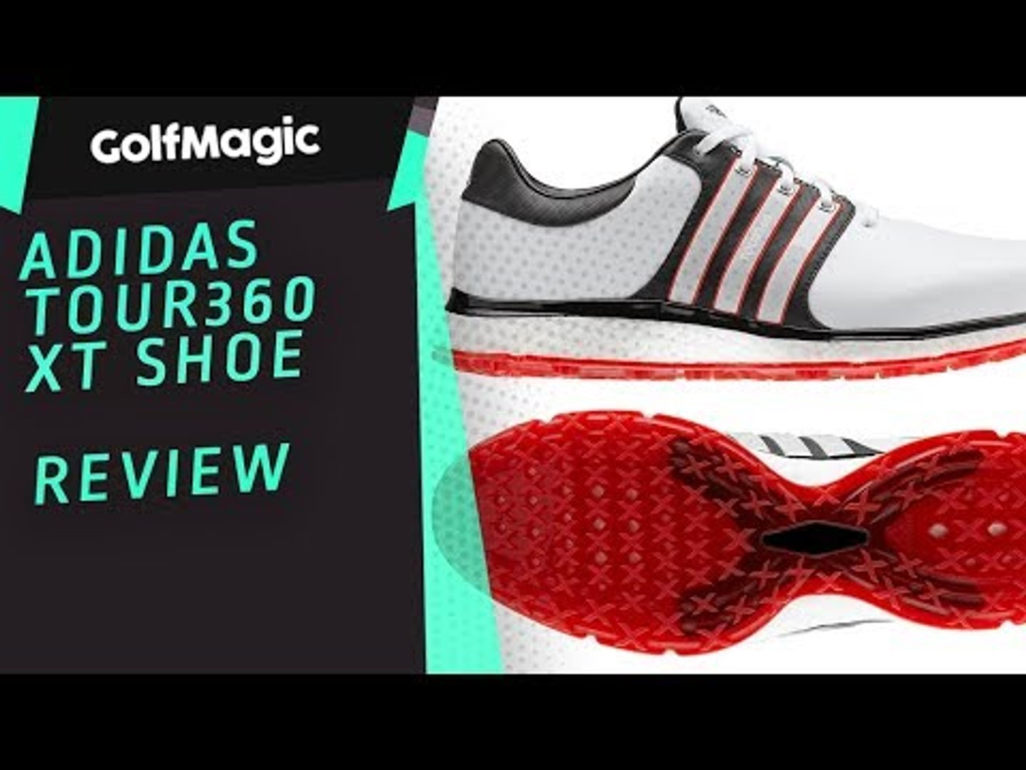 adidas Golf Tour360 XT SL shoe review as worn by Dustin Johnson in 2019
