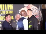 BERNARD HOPKINS v JOE SMITH JR - OFFICIAL HEAD TO HEAD / HOPKINS v SMITH JR