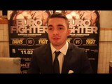 'I WANT TO FIGHT REAL FIGHTERS & BE IN BIG FIGHTS'- ANTHONY YIGIT ON EBU CLASH WITH LENNY DAWS
