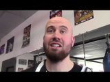 GERALD WASHINGTON TRAINER JOHN PULLMAN BREAKSDOWN DEONTAY WILDER v GERALD WASHINGTON