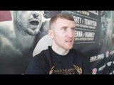 PATRICK GERARD BARNES (PADDY) - 'ANYONE WHO KNOWS ME KNOWS IM A JOKER BUT INSIDE RING IM DIFFERENT'