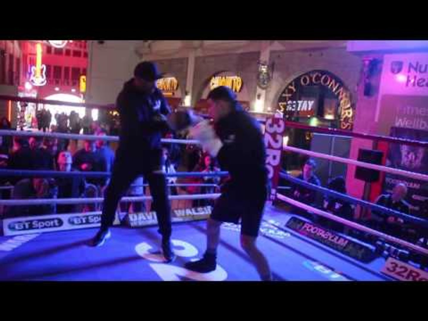 PRIDE OF CHORLEY - JACK CATTERALL **FULL & COMPLETE* PUBLIC WORKOUT W/ TRAINER H'AROON HEAD