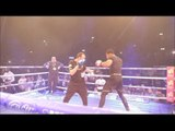 MONSTER!! ANTHONY JOSHUA LETS HIS HANDS GO ON THE PADS @ WEMBLEY WORKOUT OUTS / JOSHUA v KLITSCHKO