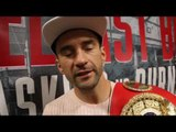 I DONT CHASE THIS SPORT FOR CREDIT, DONT REALLY CARE WHO LIKES ME - LEE HASKINS ON BURNETT CLASH