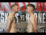 PROFESSIONAL DEBUT! - SEAN MAGEE v JULES PHILLIPS - OFFICIAL WEIGH IN ( FROM BELFAST)
