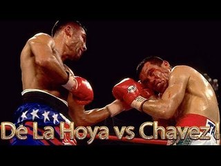 Oscar De La Hoya vs Julio Cesar Chavez I (Highlights)