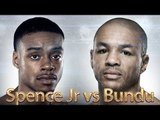 Errol Spence Jr vs Leonard Bundu (Highlights)