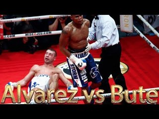 Eleider Alvarez vs Lucian Bute (Highlights)