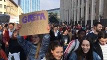"""Les jeunes de la manif pour le climat nous parlent : """"Greta Thunberg est notre idole"""""""
