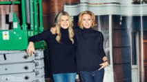 """Tea Leoni and Stand-In Sara DeRosa: """"We Have a Rhythm""""   Behind the Scenes"""