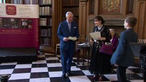 Prince Charles celebrates with students at awards ceremony