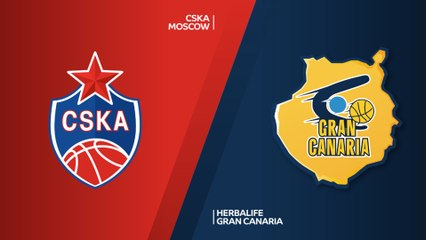 EuroLeague 2018-19 Highlights Regular Season Round 23 video: CSKA 107-85 Gran Canaria